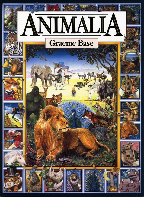 Image result for animalia book cover
