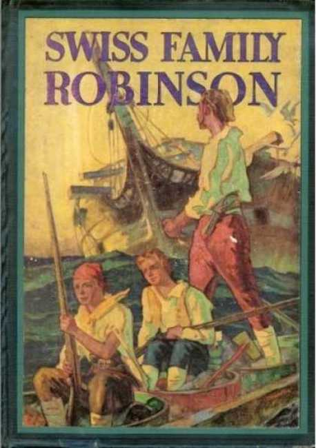 Image result for swiss family robinson book cover