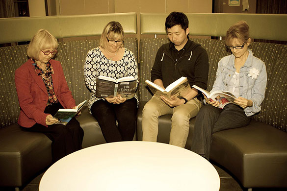 Adults Reading